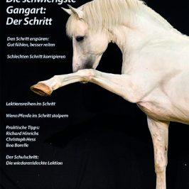 Neues Heft: Die schwierigste Gangart: Der Schritt
