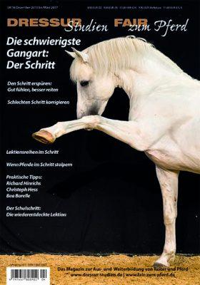 Das neue Heft: Die schwierigste Gangart: Der Schritt!
